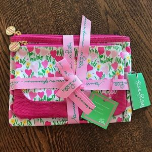 Lilly Pulitzer Cosmetic Case Set